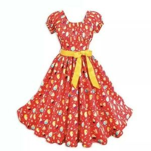 Disney Parks Dress Shop Pineapple Swirl Dress XL